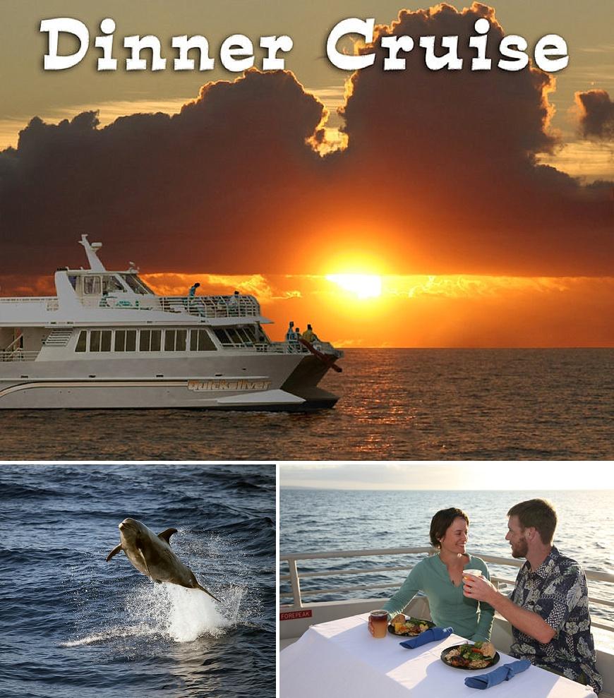 Quicksilver Sunset Dinner Cruise