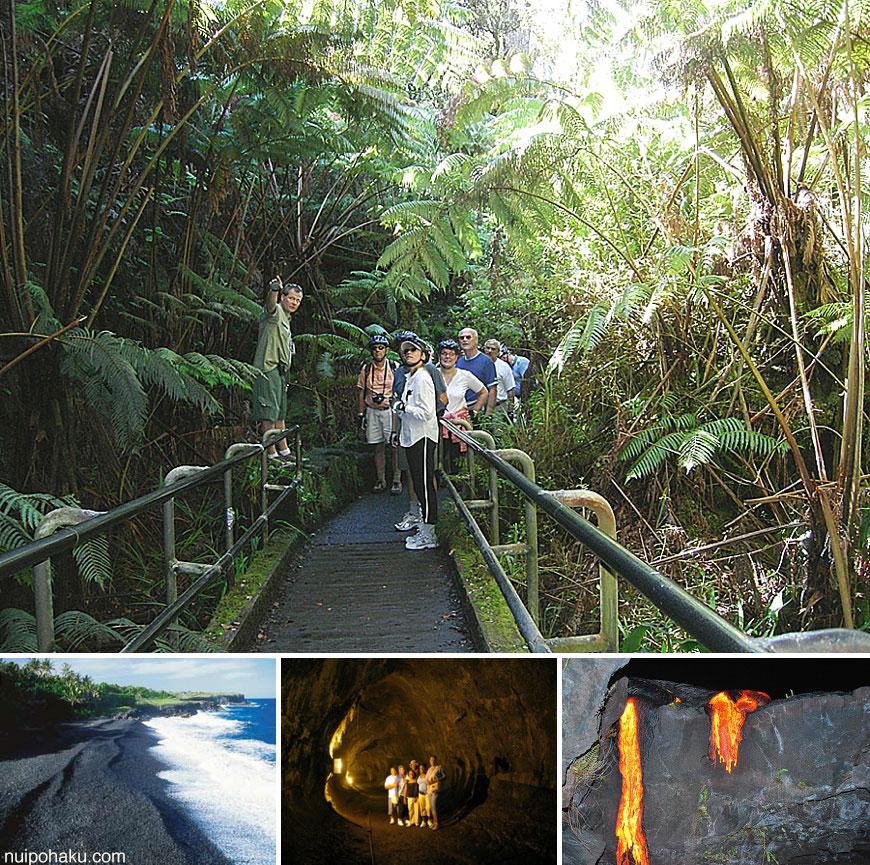Kilauea Volcano Bike & Lava Combo